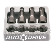 Duo Drive XZN 12-point Socket Kit