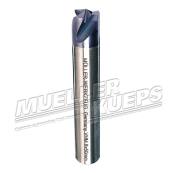 Carbide spot weld drill bit 3-edged 8x50mm