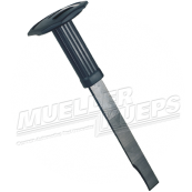 Weld breaker with protection rubber handle
