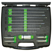 Complete kit for glow plugs electrode ­extraction